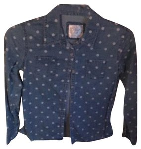 Justice Button Down Shirt Blue