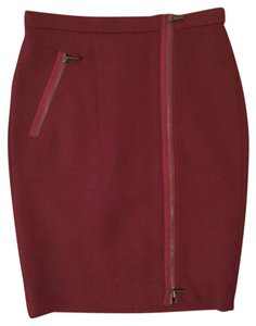 J.Crew Work Wear 0 Skirt Red