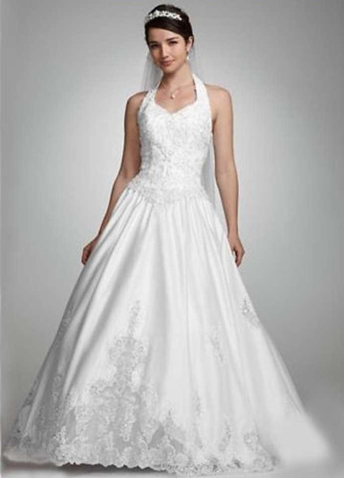 Ivory Style T8706 Formal Wedding Dress Size 8 M Tradesy