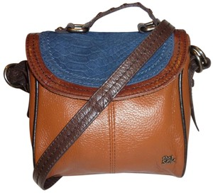 The Sak Refurbished Leather Cross Body Bag