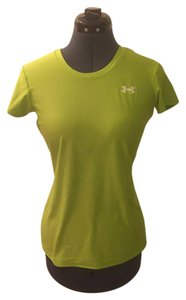 Under Armour Running Athletic Workout T Shirt Lime Green