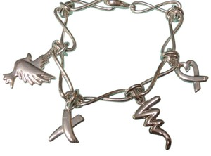 Tiffany & Co. Rare Paloma Picasso Icon Charm Bracelet, never used, w/ pouch