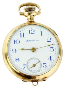 Hampden Hampden 14K Yellow Gold Antique Ladies Lapel Watch