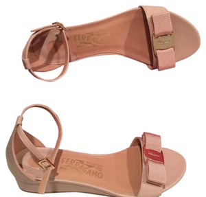 Salvatore Ferragamo New Bisque Sandals