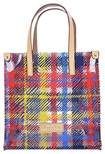 Dooney & Bourke Clear Plastic Tote in Multicolor