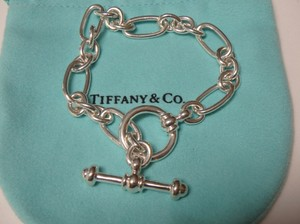 Tiffany & Co. Rare Paloma Picasso sterling silver Toggle bracelet 7