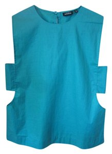 Kate Spade Cotton Top Turquoise