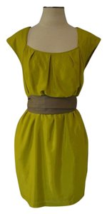Jessica Simpson short dress Muted lime green on Tradesy