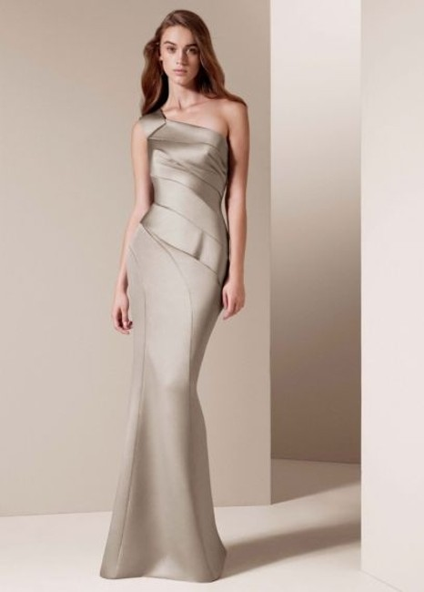 Item - Blush Satin Vw360013 Formal Bridesmaid/Mob Dress Size 8 (M)