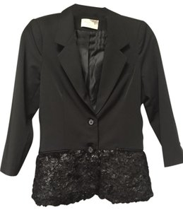 Elizabeth and James & Feather Black Blazer