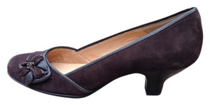 Eürosoft by Söfft Low Brown Suede Comfy High Quality Chocolate Brown Pumps