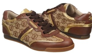 Michael Kors Wedge Gold Brown Athletic