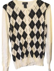 Brooks Brothers Supima Cotton Argyle Sweater Cardigan