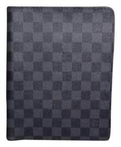 Louis Vuitton Louis Vuitton Damier Graphite Canvas Agenda Bureau Cover