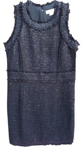 Michael Kors Glitter Designer Sheath Embellished Dress