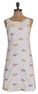 Betsey Johnson short dress FLORAL Embroidered on Tradesy
