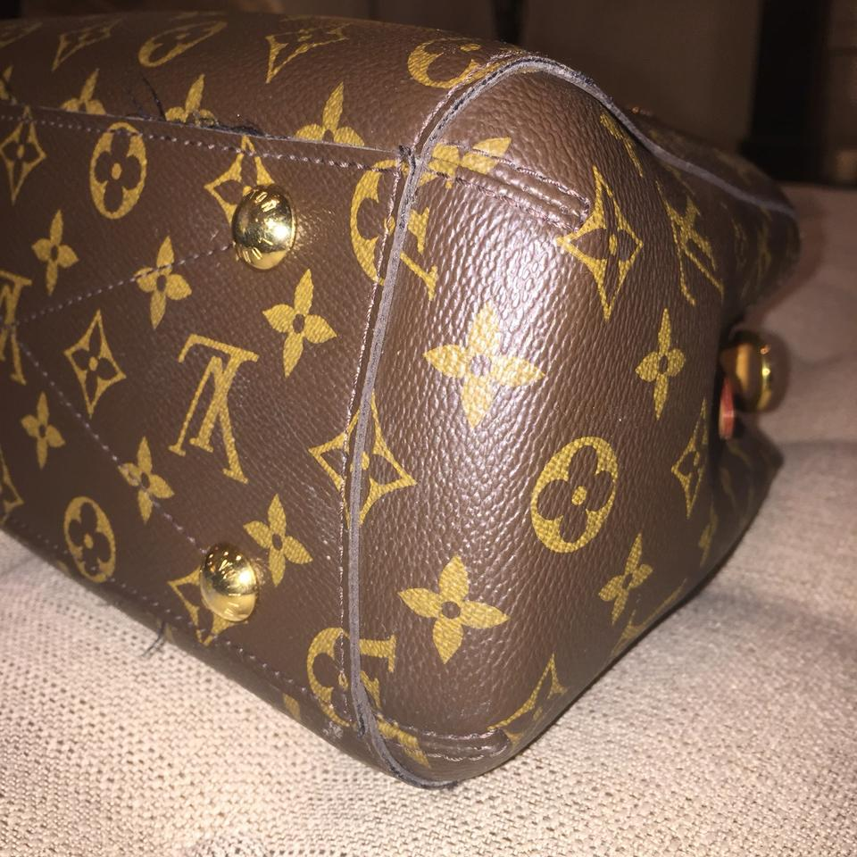Louis Vuitton Montaigne Speedy Dora Bb Monogram Handbag Mini Micro Nano Pm  Small Like Brown Canvas Shoulder Bag - Tradesy 7a4dc5cb496e3
