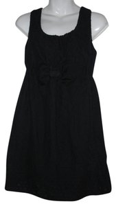 Juicy Couture short dress Black Eyelet Cotton on Tradesy