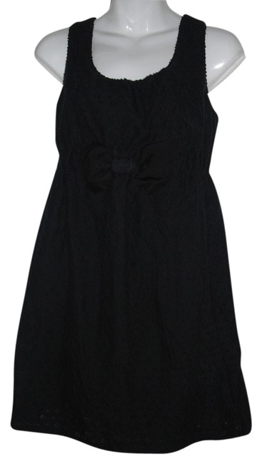 Preload https://item2.tradesy.com/images/juicy-couture-black-eyelet-cotton-short-casual-dress-size-2-xs-1695606-0-0.jpg?width=400&height=650