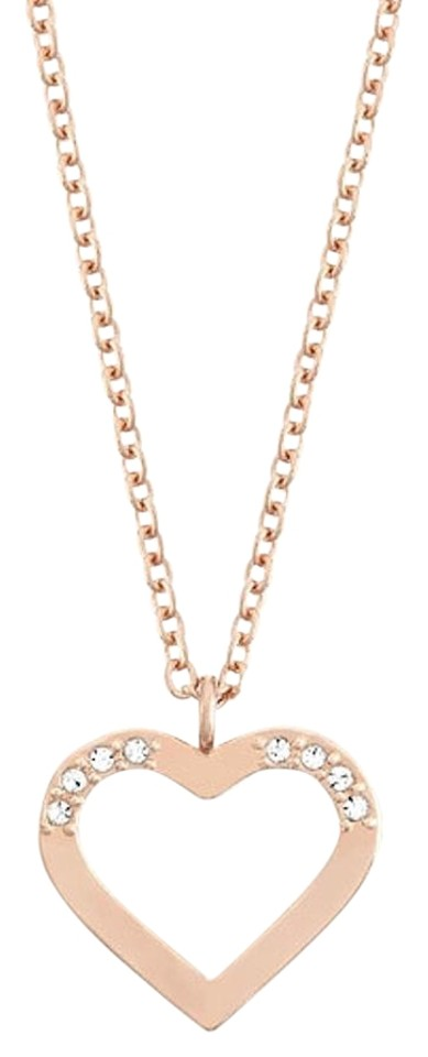Swarovski rose gold heart charm holder 5070437 necklace tradesy swarovski swarovski heart charm holder necklace rose gold 5070437 aloadofball