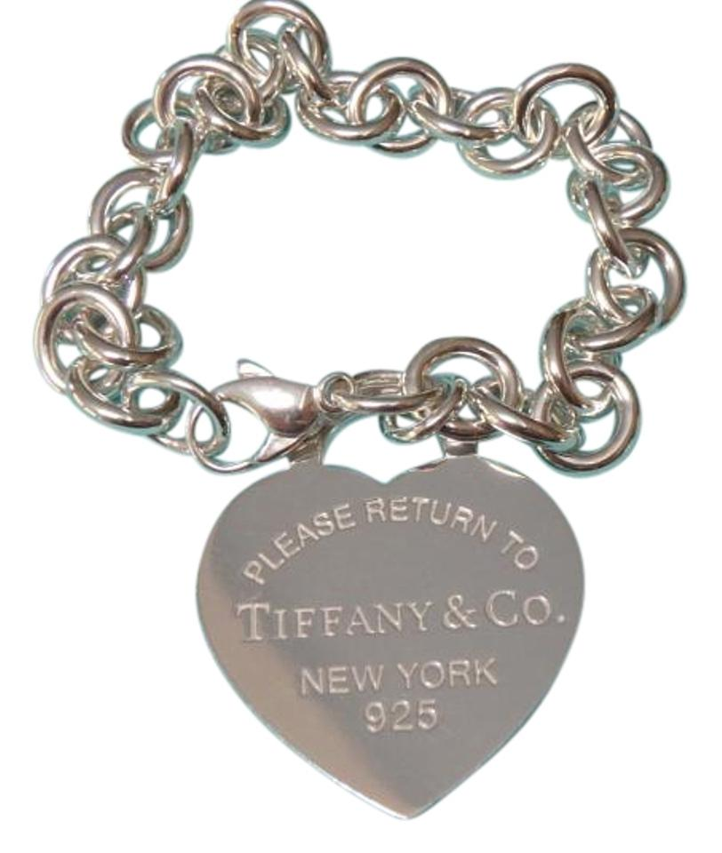 394d7f9d9 Tiffany & Co. Sterling Silver Xl Co Return To Heart Tag 7.25