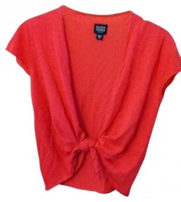 Preload https://item3.tradesy.com/images/eileen-fisher-coral-cardigan-size-petite-2-xs-16957-0-0.jpg?width=400&height=650