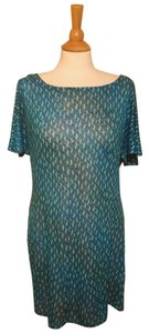 Plenty by Tracy Reese short dress Turquoise Tunic on Tradesy