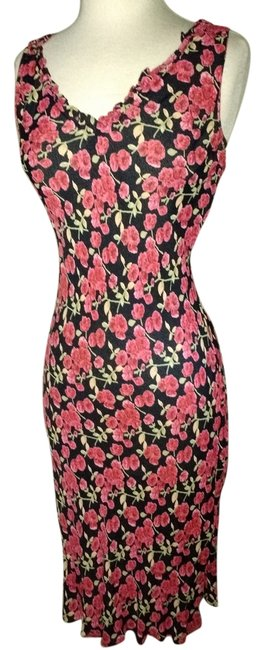 Angie Conservative Cocktail Work Approprate Figure Flattering Dress