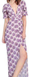 Purple/floral Maxi Dress by For Love & Lemons