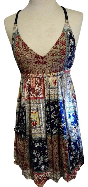 Preload https://item5.tradesy.com/images/american-rag-multicolor-pockets-strappy-colorful-pattern-knee-length-short-casual-dress-size-6-s-1695819-0-0.jpg?width=400&height=650
