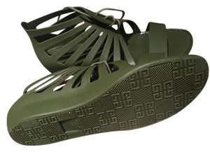 Givenchy Army Green Sandals