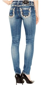 Miss Me Daisy Dream Skinny Jeans-Light Wash