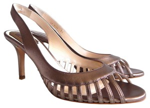 Dior Bronze Metallic Sandals