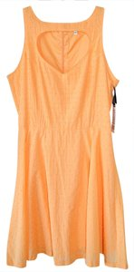 BB Dakota short dress Orange Cut-out Summer on Tradesy