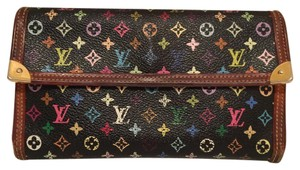 Louis Vuitton K84 Louis Vuitton Long Wallet Monogram Multicolore