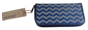 Movmt MOVMT THE PEOPLE'S MOVEMENT CHEVRON ZIPPY POCKET BOOK RECYCLED WALLET