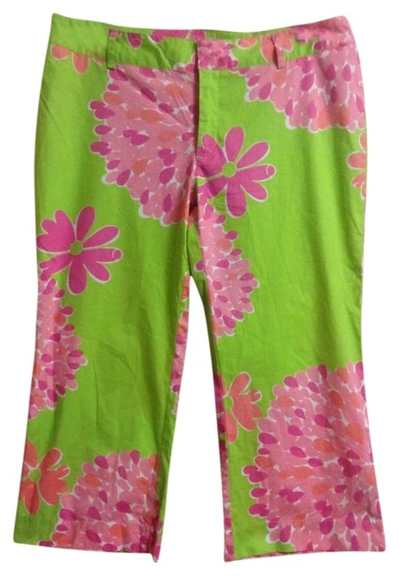 Preload https://img-static.tradesy.com/item/169651/lilly-pulitzer-multi-pink-and-green-floral-capris-size-4-s-27-0-0-650-650.jpg