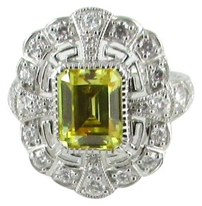 Xavier 4.81ct Canary Yellow Absolute Sterling Silver