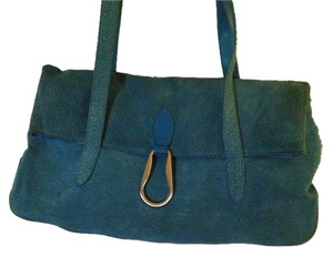 Wilsons Leather Satchel in Blue Turquoise