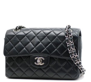 Chanel Silver Shoulder Bag