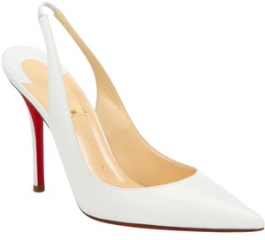 Christian Louboutin Office Summer Sexy White Pumps