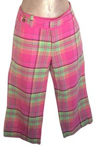 Lilly Pulitzer Capris Pink,Green