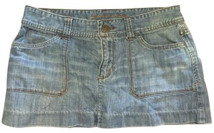 Abercrombie & Fitch Jean Mini Skirt