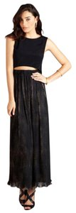 Black Maxi Dress by Label by Five Twelve Evening Prom Party Polyester