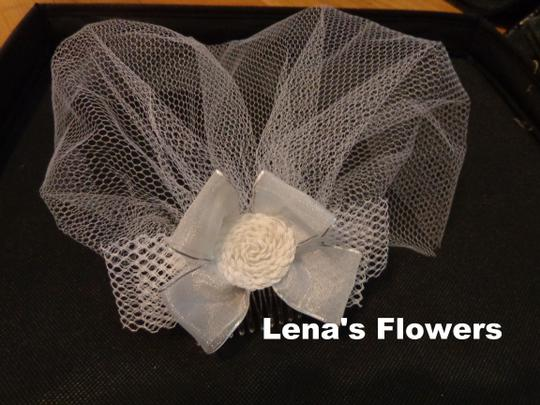 Mini Bridal Birdcage Veil Short Bridal Veil Wedding Accessory