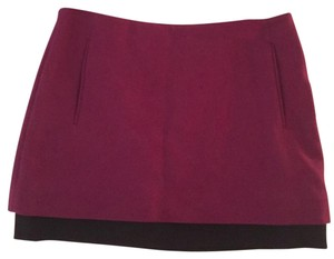 Diane von Furstenberg Dvf Elley Mini Exclusive Barneys Skirt Purple/Black