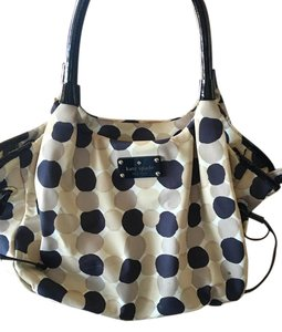 Kate Spade Stevie Satchel in Polka dotted