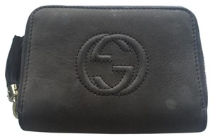 Gucci GUCCI SOHO SMALL DISCO ZIP AROUND WALLET
