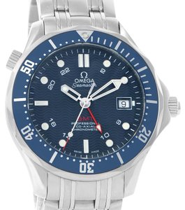Omega Omega Seamaster Bond 300M GMT Blue Dial Watch 2535.80.00