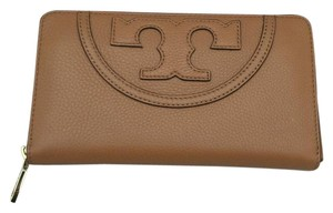 Tory Burch New Tory Burch ALL T Continental Wallet Brown Leather